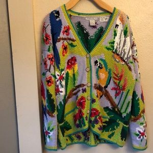 Sweaters - Parrot sweater